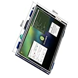 For Raspberry PI 3 Generation TFT Touch Screen, Kuman 3.5 Inch TFT LCD Display Monitor Support all Raspberry PI System, Video Movie Play, Arcade Game, HDMI Audio Input SC6A (3.5 HDMI Screen)