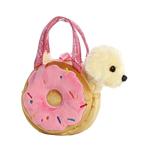 - Aurora World Fancy Pals Pet Carrier Yummy Donut & Puppy Plush