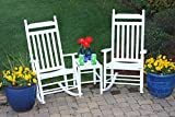 Set of 2 Rocking Chairs w Table 309150