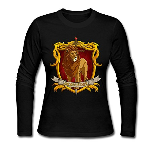 Price comparison product image AOPO Women's Long Sleeve Harry Potter Gryffindor Tee Shirts
