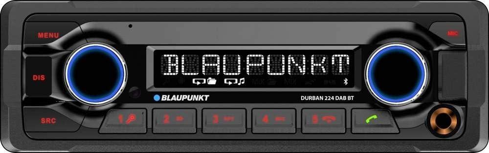 Blaupunkt Durban 224 Dab Bt 1 Din Dab Elektronik