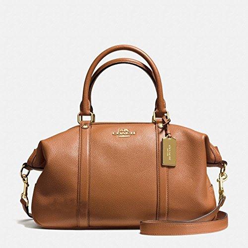 Coach Pebble Central Satchel Handbag