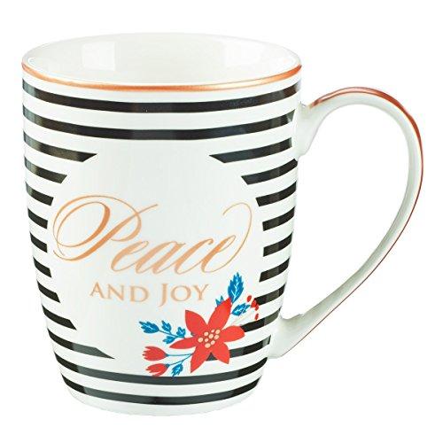 - Mug - Peace and Joy Striped