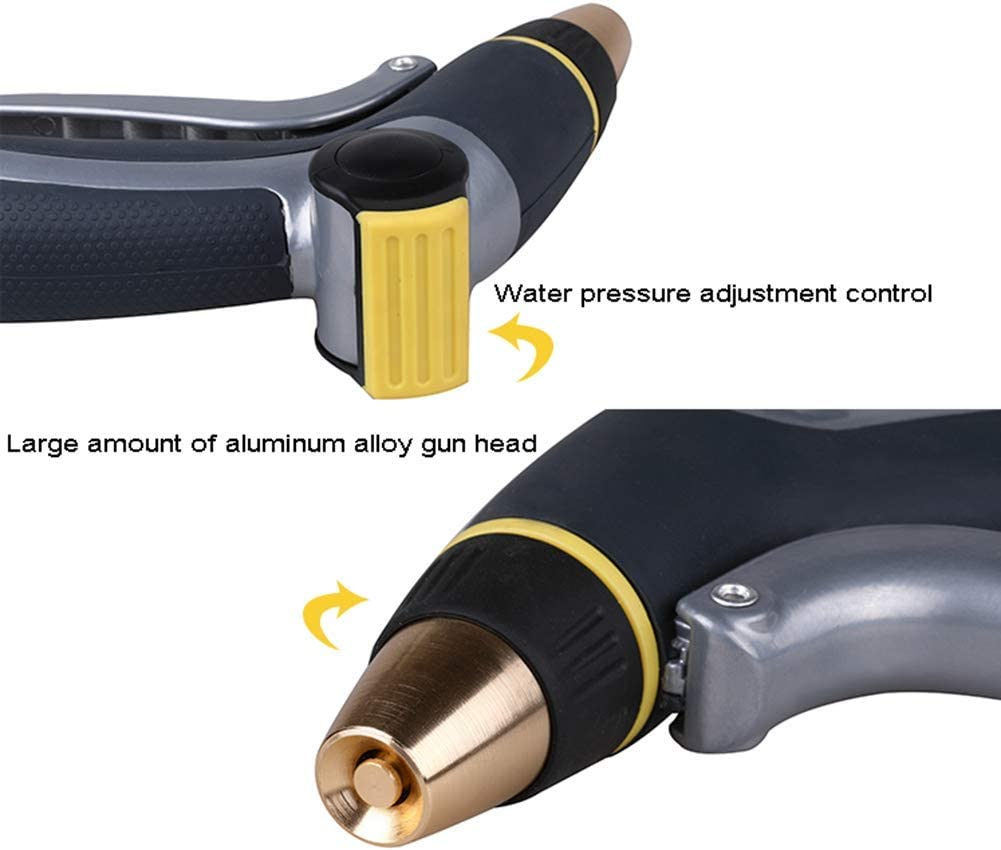 YSHCA Hoses, Expandable Garden Hose Lightweight Flexible Water Hose with Function Nozzle and Triple Latex Core Kink Free Leak Proof,22m/72ft 22m/72ft