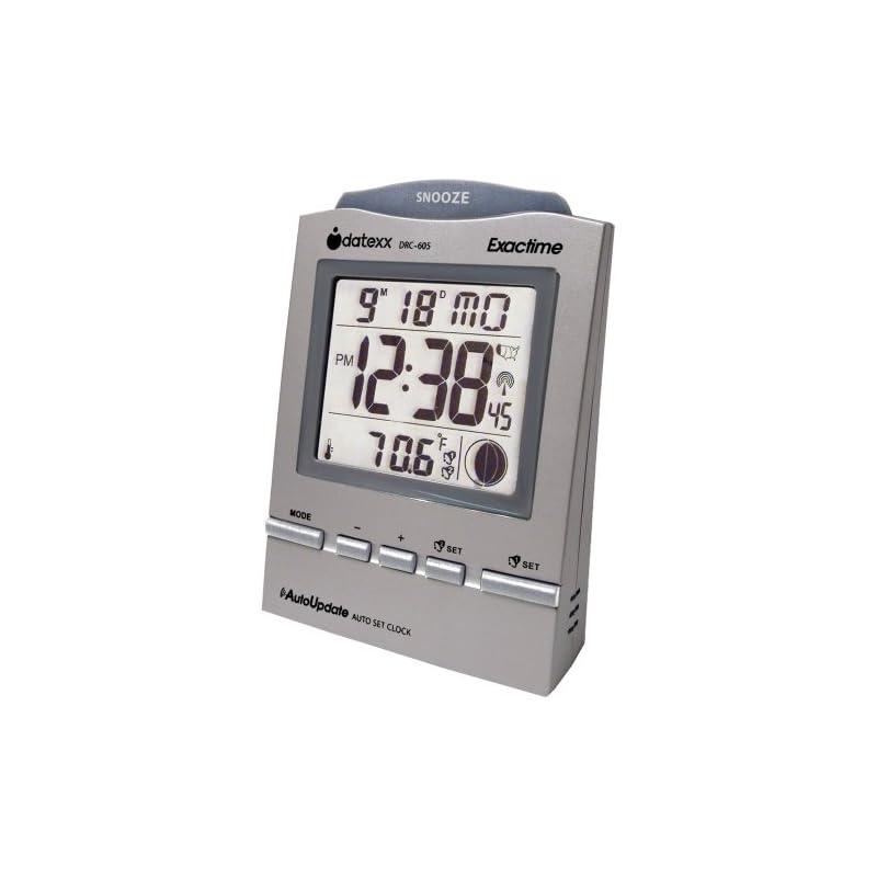 Datexx Radio Control Alarm Clock with Mo