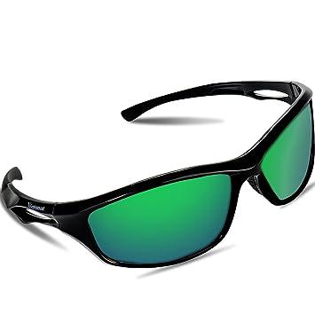 Polarizadas Deportes Gafas de sol para hombre victgoal protección UV400 Ciclismo gafas TR90 marco para los