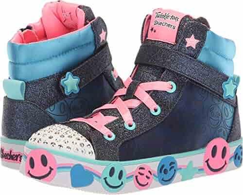 Reebok Kids Freestyle Hi Velvet Sneaker (Toddler). seller  V.I.M.. (0).  Skechers Kids Womens Twinkle Toes  Smile Lights (Little Kid Big Kid) 69378067b