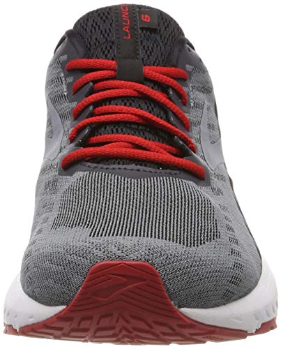 De black Launch Brooks 071 cherry Gris ebony Hombre 6 Running Zapatillas Para qHtxwUdtz