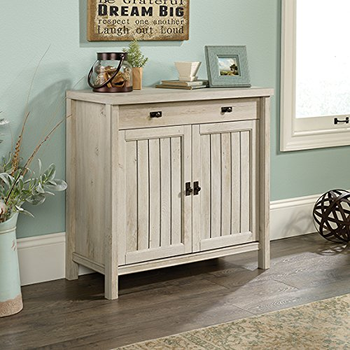 Sauder Costa Accent Chest in Chalked Chestnut by Sauder