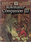 img - for Rolemaster Companion 3 by Don Coator (1989-03-01) book / textbook / text book