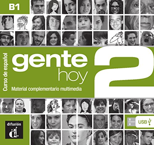 Gente hoy 2. Manual digital USB (incl. Libro del profesor) (B1)