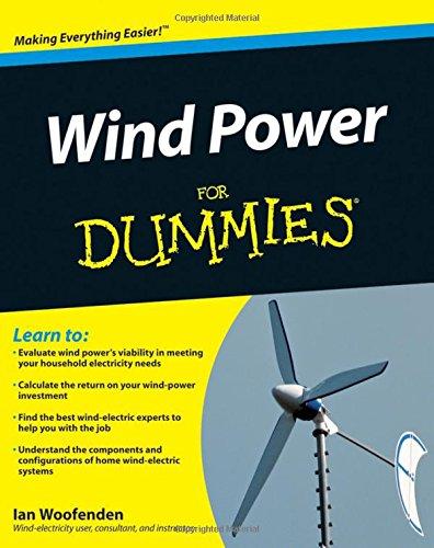 Wind Power Dummies Ian Woofenden product image