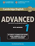 Cambridge English Advanced 1 for Revised Exam from 2015 Student's Book with Answers: Authentic Examination Papers from…