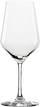 Copas para vino tinto Revolution de Stölzle Lausitz, de 490ml, juego de 6, copas para vino de diseño específico, diseño de copa para vino tinto concebido pensando en una amplia diversidad de variedades de uva