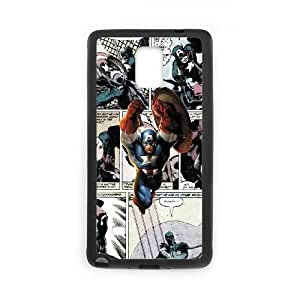 Samsung Galaxy Note 4 Cell Phone Case Black Marvel comic gjpp