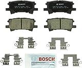 Automotive : Bosch BC996 QuietCast Premium Ceramic Disc Brake Pad Set For: Lexus RX330, RX350, RX400h; Toyota Highlander, Rear