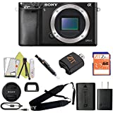 Sony Alpha a6000 Mirrorless Digitial Camera 24.3MP SLR Camera with 3.0-Inch LCD (Black) (Body Only, Starter Kit)