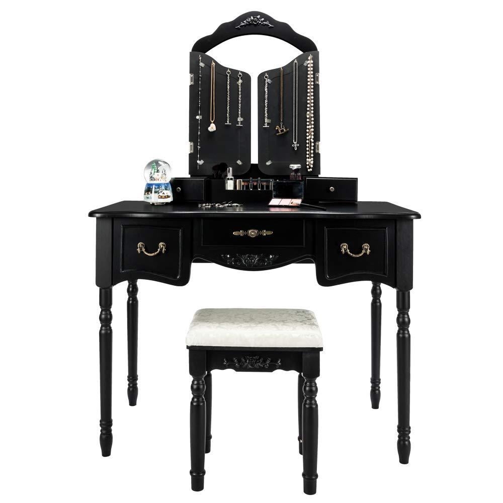 Amazon.com: FCH - Juego de mesa de tocador moderno para ...