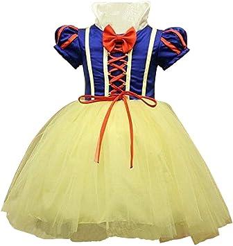 Disfraz de Blancanieves para niña: Amazon.es: Juguetes y juegos