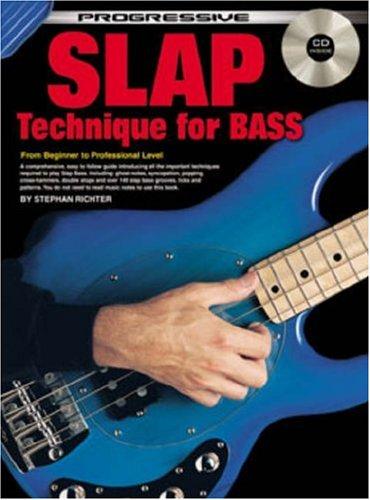 CP18316 - Progressive Slap Technique for - Bass Progressive Blues