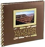 Malden 2-Up Vacation Memories Photo Album, 4-Inch by 6-Inch