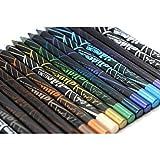la colors eyeliner - 19pc LA Girl Gel Glide Eyeliner Pencil set of 19 color #GP351-369