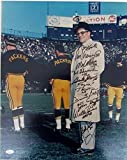 Green Bay Packers Stars Multi Signed Vince Lombardi 16x20 Photo Starr JSA 130407 - Authentic Signed Autograph