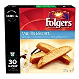 Best Cup Of Coffees - Folgers Vanilla Biscotti Coffee K-Cup Pods, 30 K-Cups Review