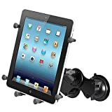 RAM Mounting Systems RAM MOUNT DOUBLE SUCTION CUP MOUNT W/ X-GRIP III HOLDER