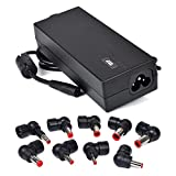 Targus 90 Watt AC Laptop Charger Supports HP, Compaq, Dell, Acer, Toshiba, Gateway, IBM, Lenovo, Asus, Sony and Fujitsu with Limited Two Year Warranty APA31US ,Black (Certified Refurbished)
