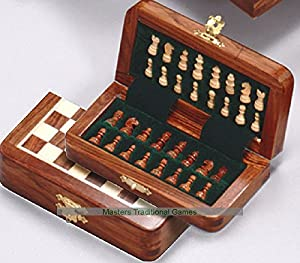 Magnetic Folding Chess Set 5""