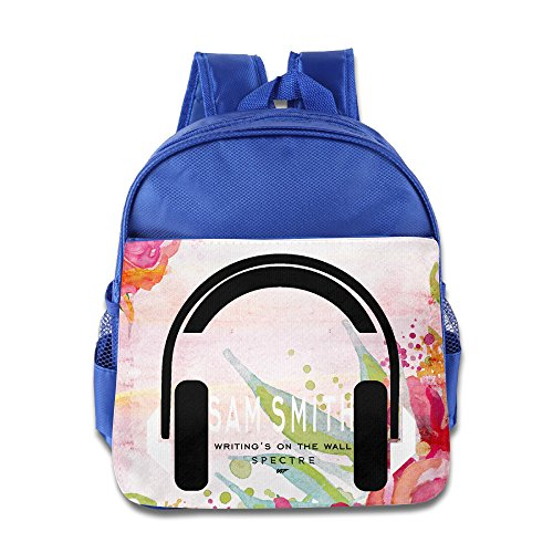 DHome Sam Writings On Wall Unisex Outdoor Bags RoyalBlue -