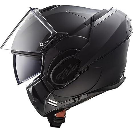 LS2/Casco de Moto Valiant Mat Limited Edition Tama/ño XL completo Negro