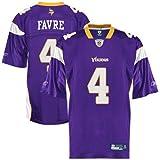 Brett Favre Jersey: Reebok Purple Replica #4 Minnesota Vikings Jersey