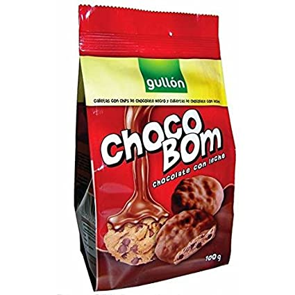 GALLETAS GULLÓN CHOCO BOM LECHE BOLSA 100gr