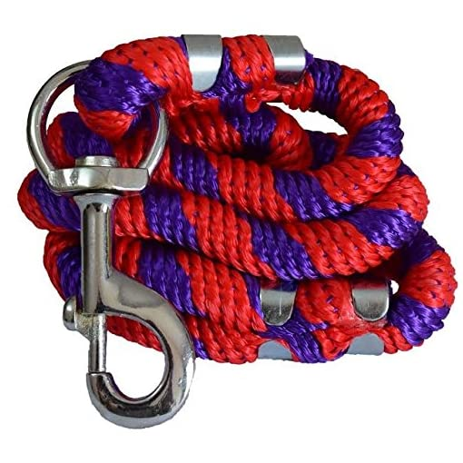 Pawzone Strong Rope Leash For Big Dogs With Big Hook Colour