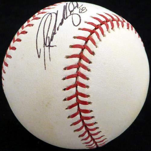 Ryan Rowland Smith Autographed Baseball Official Team Australia Beckett BAS #H10327 Beckett Authentication