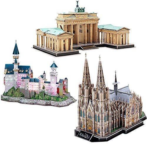 3 3D Puzzles - Deutschland