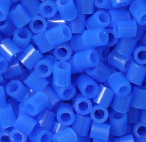 (Perler Beads 1,000 Count-Neon Blue)