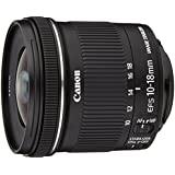 Canon EF-S 10-18 mm f:4.5-5.6 IS STM - Objetivo para Canon (Estabilizador óptico), negro
