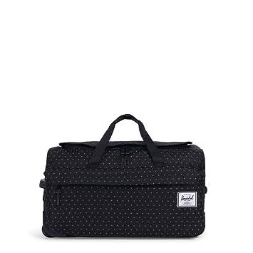 1c5e6e97c6c Amazon.com   Herschel Wheelie Outfitter, Black Gridlock   Travel Totes
