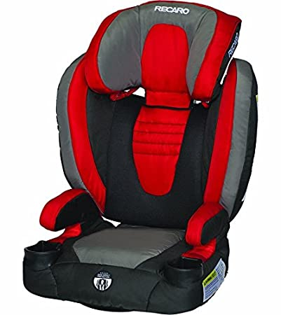 Buy Recaro Probooster Xl High Back Car Seat Red Black Grey Discontinued By Manufacturer Online At Low Prices In India Amazon In