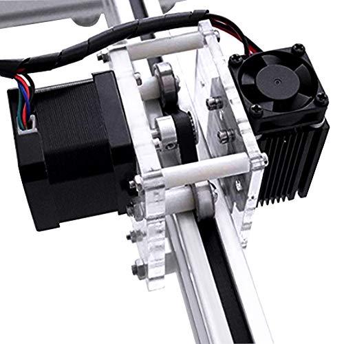 MYSWEETY DIY CNC Laser Engraver Kits, 40x50cm 2500mW Wood Carving Engraving Cutting Machine Desktop Printer Logo Picture Marking, 2 Axis by MYSWEETY (Image #4)