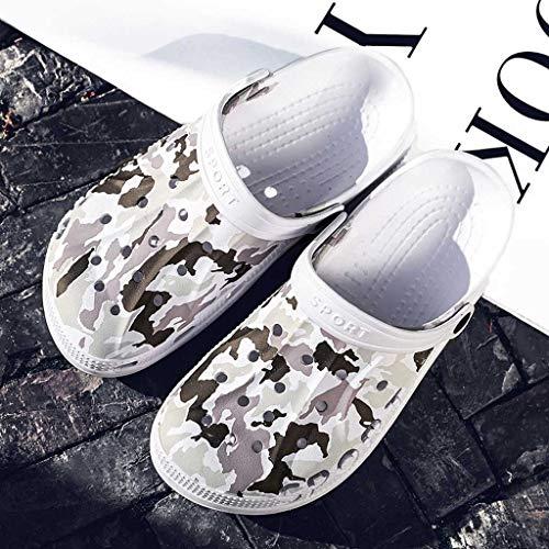 Sandali Ragazza Moda Casual Donna Romani Ihengh Nuovo Valentino Women 2019 Nero Bianco Estate Spiaggia Sandals San Pantofola Solido 65qnUgw