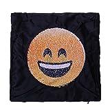 Best BAMBOO Nursing Pillows - Beautymei Emoji Sequins Magic Throw Pillow Covers, E-Moji Review