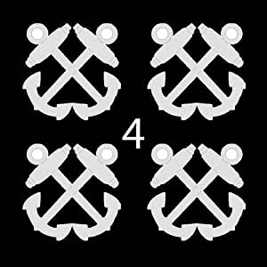 us navy rank rate boatswain 39 s mate bm 3 4 four decal sticker lot automotive. Black Bedroom Furniture Sets. Home Design Ideas