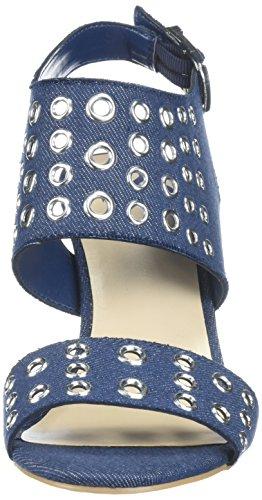 Fergalicious Women's Jolene Heeled Sandal Denim NBSfmZ