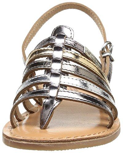 Donne Le Belarbi Delle Multi argento Riccio Argento Sandalo Tropéziennes M Per qqBSYp