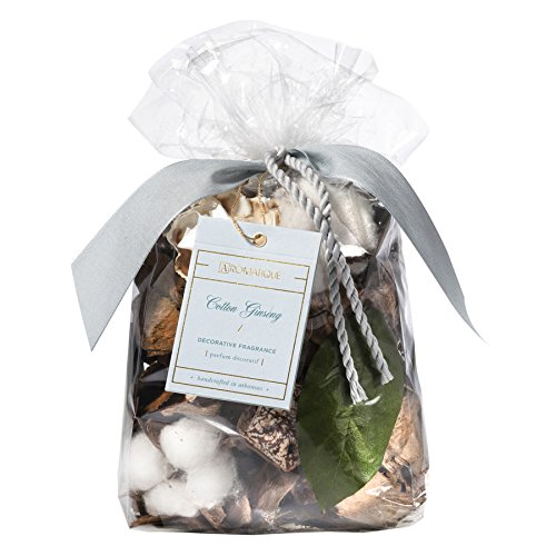 Aromatique Cotton Ginseng Decorative Fragrance Standard 5 oz Bag by