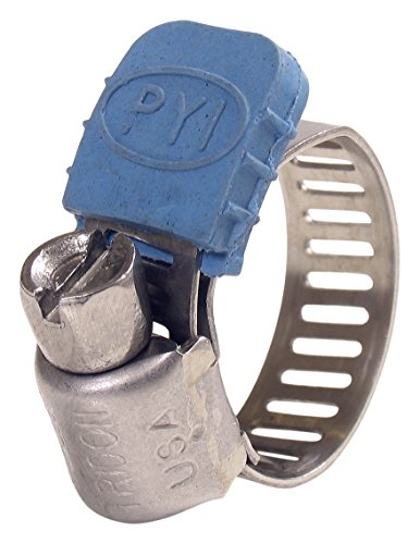 Clamp Jacket Hose Clamp Protectors Blue (25 Pack), Blue, -